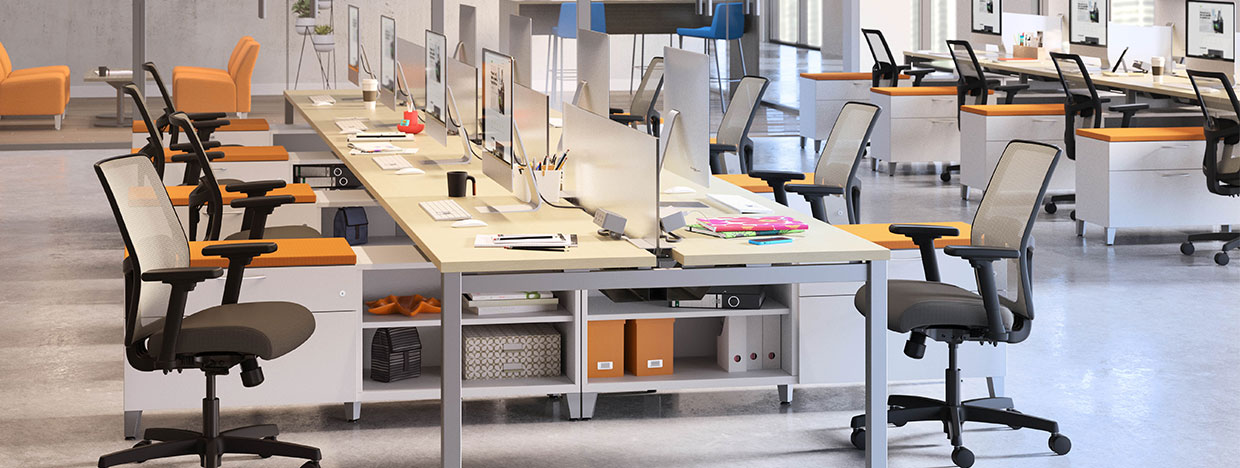 Office Furniture Systems & Workstations